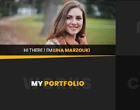 Lina - Creative vCard, Resume, CV