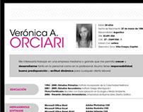 CV Currículum Vitae Design