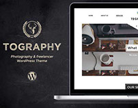A WordPress theme for photography and freelancers