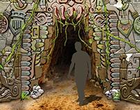Mayan Entrance