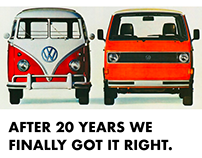 VW Ad to Digital