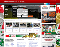 Website Theme // Cycletrader.com