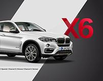 THE NEW BMW X6. International Media Launch.