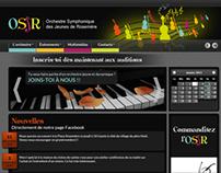 Site web / Website - Orchestre des Jeunes de Rosemère