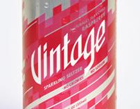 Redesign for Vintage Sparkling Seltzer Water