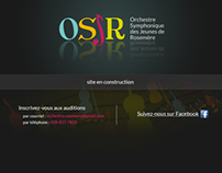 Page construction / Coming Soon Page - OSJR