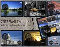 Ready to Print 2013 Wallpaper Calendar