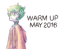 Daily Warm Up Drawings - May 2016