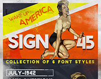 Sign '45 Typeface