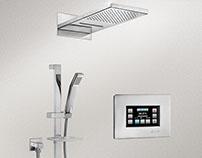 ELEKTRA Duş Bataryası LCD Ekran Arayüz Tasarımı