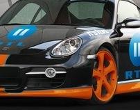 RTL II . Porsche Caiman Retouching