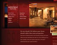Redstone Custom Door website
