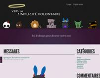 Projet scolaire - Blogue / School project - Blog