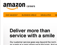 Amazon careers website