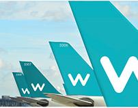 Wendair | Airline Identity