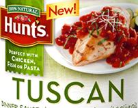 Hunt's: Dinner Sauce banner ad