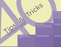 Ellen Lupton's 40 Tips and Tricks for Getting Inspired