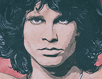 AntiMonotonia - Poster Jim Morrison : The Doors