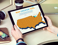 Educate Elevate National Website: Website and Map Tool
