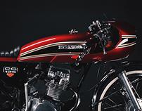 Honda CG 125 - Cafe Racer Deluxe
