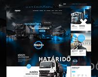 Transplus responsive website concept