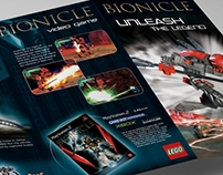 Lego Bionicle Leaflet