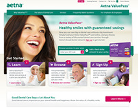 Aetna ValuePass Website