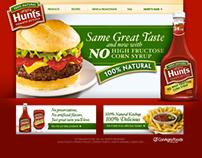 Hunt's Ketchup website