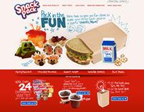 Snack Pack website concept