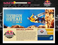 RedBull: Rampage microsite
