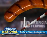 Hebrew National: Gold Medal Wiener banner ad