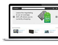 Deem e-commerce application