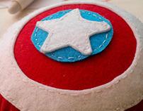Captain America Felt :)
