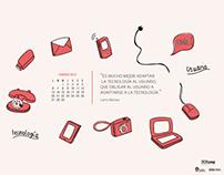 Diseño e Ilustración // Wallpaper UX Loop