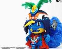 Huitzilopochtli Munny Custom
