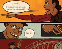 The Adventures of Cassia and Reginald - Short Comic