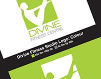 DIVINE Fitness Centre Logo Design