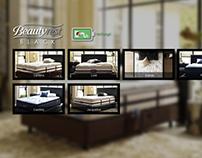 Simmons Official Website Concept Design