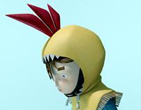Diseño de personaje / 3D