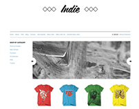 Indie Theme for Retailr