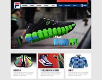 Web Fila Argentina