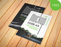 Free Flyer A4 – 2 PSD Mockups