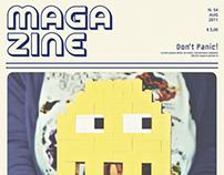 8-bit Magazine Template