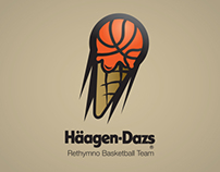 Häagen Dazs Basketball, visual identity