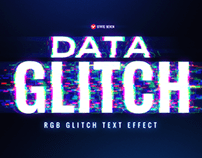 FREE DATA GLITCH TEXT EFFECT