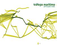 Infografia Tráfego Maritimo