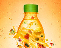 Tornado Mixed Juice - Concept Image