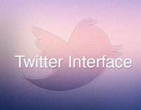 Twitter UI.