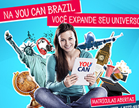 You Can Brazil - Flyer