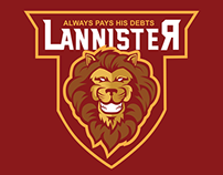 Lannister Lions concept logo (FOR SALE)
